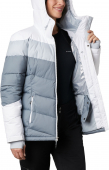 Columbia Abbott Peak Insulated Jacket Women's Grey Ash/White