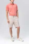 Audimas LIGHTWEIGHT COTTON SHORTS 2011-501 Silver Cloud
