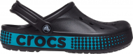Crocs™ Bayaband Logo Motion Clog Black