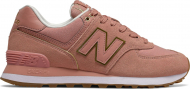 New Balance WL574 Nubuck Red