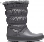 Crocs™ Women's Crocband Winter Boot Charcoal