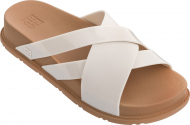 ZAXY Flat Days Slide Off White/Caramel