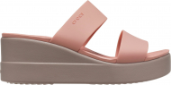 Crocs™ Brooklyn Mid Wedge Womens Pale Blush