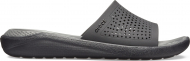 Crocs™ LiteRide Slide Black/Slate Grey