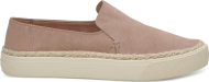 TOMS Suede Rope Women's Sunset Slipon Bloom