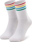 Happy Socks Colour Cuff 3/4 Crew Sock Multi 1300