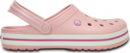 Crocs™ Crocband™ Pearl Pink/Wild Orchid
