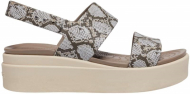 Crocs™ Brooklyn Low Wedge Womens Multi/Stucco