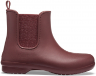 Crocs™ Freesail Mt Chelsea Boot Women's Metallic Burgundy