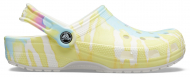 Crocs™ Classic Tie Dye Graphic Clog White/Multi