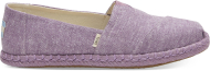 TOMS Chambray on Rope Women's Alpargata Rose Violet