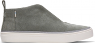 TOMS Suede Women's Riley Sneaker Dusky Grey