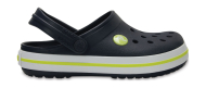 Crocs™ Kids' Crocband Clog Navy/Citrus