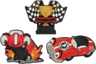 Crocs™ Crocs ZAP RACE CAR 3PC PK F14 - CARD G0618700-MU