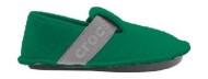 Crocs™ Kids' Classic Slipper Deep Green