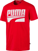 Puma Rebel Bold Tee Red