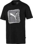 Puma Cat Brand Graphic Black