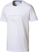 Puma Pace Graphic Tee White